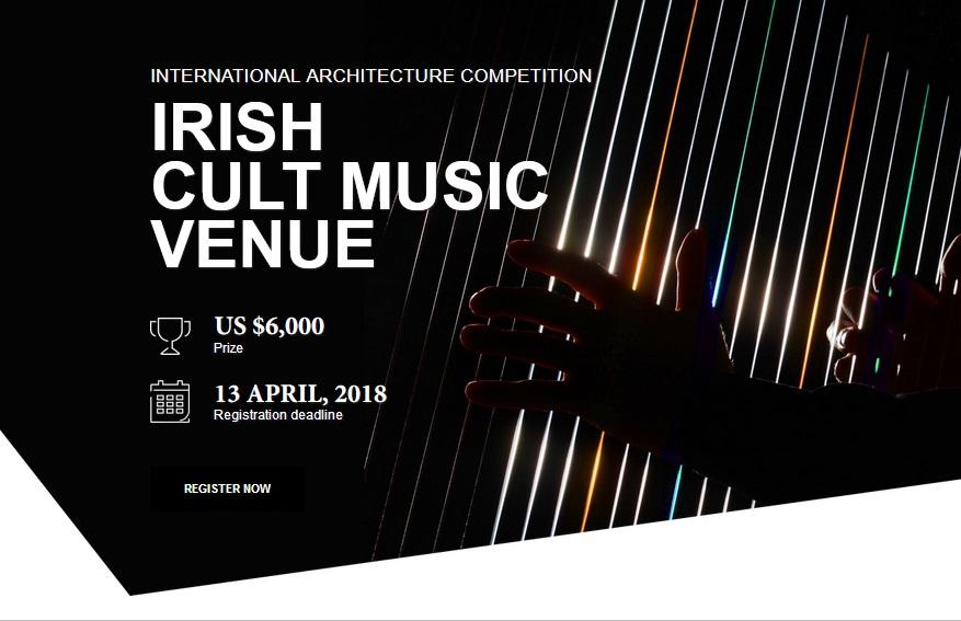 Architecture Competitions | Irish Cult Music Venue - Studio